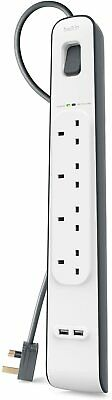 Belkin Surge Protector 4 Way Outlet