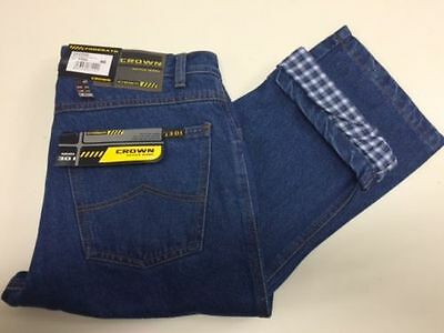 Blu Jeans Termico Crown Sea Barrier Imbottito - Crown 301 Fod