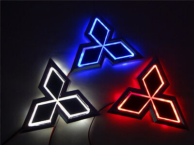 5D LED Car Logo Light Auto Badge Light Rear Emblem Lamp For Mitsubishi Lancer-10