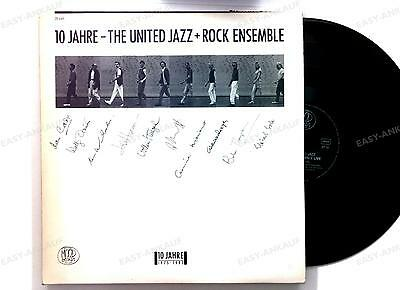 The United Jazz + Rock Ensemble - 10 Jahre GER 6LP 1985+ Innerbag,2 booklets //1