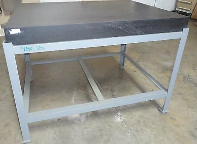 """Granite Surface Plate 36"""" X 48"""" X 4"""" With Table Stand"""