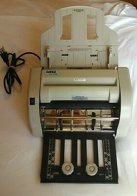 Dahle High Speed Paper Folder 10560. Power On Tested. In Good Condition.