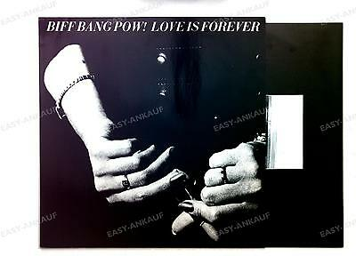 Biff Bang Pow! Love Is Forever GER LP 1988 + Innerbag Indie Psych Alan McGee //1