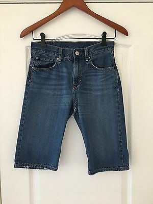 H&M kids boys denim jeans shorts size 12-13