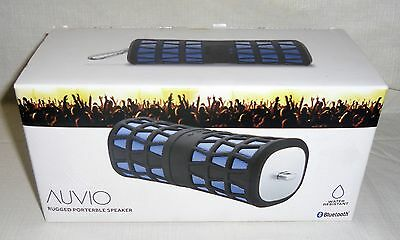New AUVIO Outbound Rugged Portable Bluetooth Speaker Bass Port AUX In 4000592