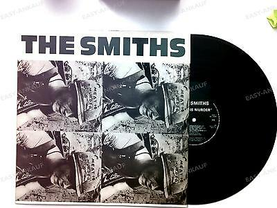 The Smiths - Meat Is Murder Portugal LP 1985 + Innerbag //1