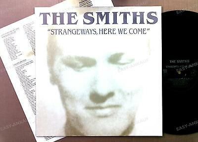 The Smiths - Strangeways, Here We Come GER LP 1987 + Innerbag //9