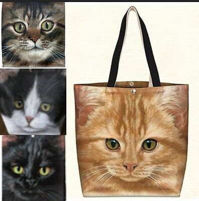 Fiddler's Elbow Cat Totes NWT Beautiful Artwork