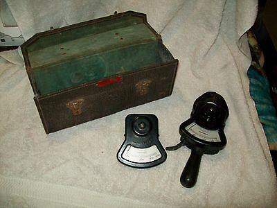 VINTAGE COLUMBIA ELECTRIC TONG TEST AMMETER 2 HEADS  Untested