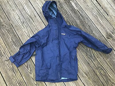 PATAGONIA, Torrentshell Navy Jacket, size youth 8