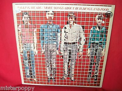 TALKING HEADS More songs about buildings and food LP 1981 ITALY EX+
