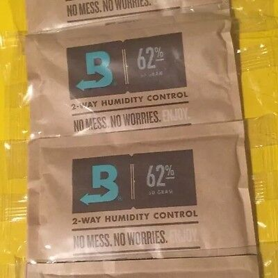 2ct Boveda 62% RH 2-Way Humidity Control, Large 67 gram Sealed Bag