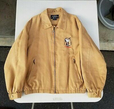 Snoopy Senior World Hockey  Tournament  Jacket SIZE LARGE