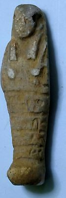 Egyptian Pharaoh Amulet, Ushabti, Faience Amulet 48 mm, see description