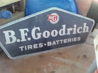 bf goodrich sign hangs on oldest up and still running  gas station