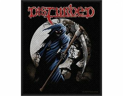 DISTURBED reaper 2012- WOVEN  PATCH - free shipping