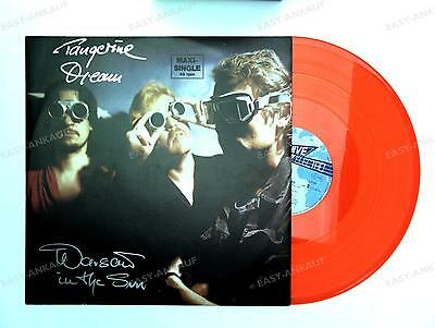 Tangerine Dream - Warsaw In The Sun D Maxi 1984 Colour Vinyl Electronic //1