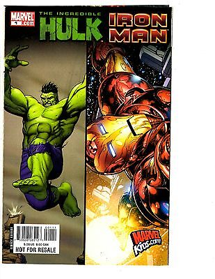 2 Hulk Marvel Comic Books Incredible Hulk Iron Man # 1 Ultimate Annual # 1 BH35