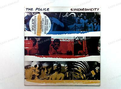 The Police - Synchronicity Europe LP 1983 + Innerbag //25