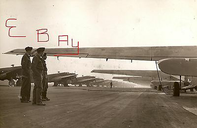 Wwii 11X14 Photograph British Raf Hamilcar Gliders Take Off 6.6.1944 D-Day Look