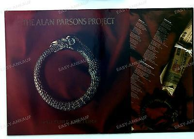 The Alan Parsons Project - Vulture Culture GER LP 1984 + Innerbag //1
