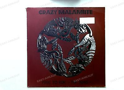 Crazy Malamute - Free To Ride - The Mixes - GER Maxi 1998 //1