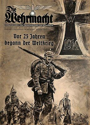 6694	 No. 	16-1939 - 2.August	 DIE WEHRMACHT	 content:	25 years WWI, huge report