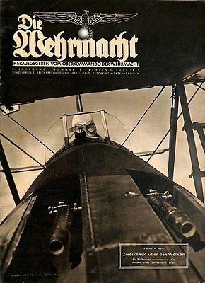 6692	 No. 	14-1939 - 5.Juli	 DIE WEHRMACHT	 content:	orders of Legion Condor dec