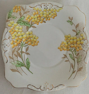 Salisbury China 1930s Greba Art Deco Serving Plate Cake Plate