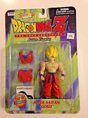 Dragon Ball Z: The Saga Continues - Super Saiyan Goku Action Figure - Series 2