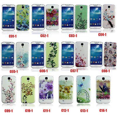 For Samsung Galaxy S4 i9500 Phone Colorful Skin Silicone Hard Case Cover