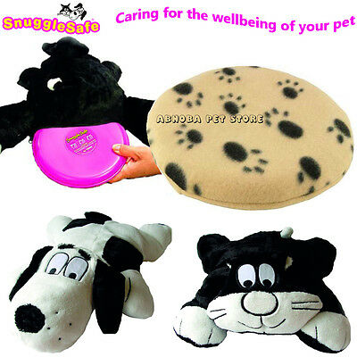 SnuggleSafe Microwave Heatpad Bite Scratch Resistant Cushion Option Whelping Pup