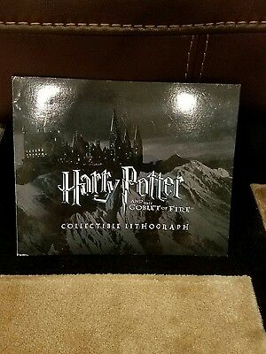 Harry Potter and the Goblet of Fire Collectible Lithograph