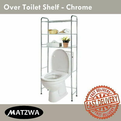 Over Toilet Rack Storage Bathroom Shelf Organizer Stand Washroom Towel Holder
