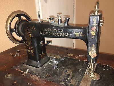 VTG 1900s NEW GOODRICH Improved Foley Williams Sewing MACHINE TABLE BASE LEGS