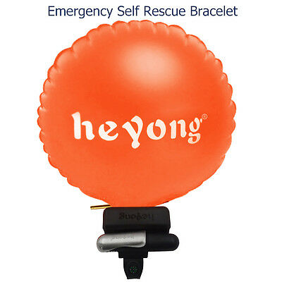 Portable Drowning Rescure Device Float Wristband With Co2 Cylinder For Adult Kid