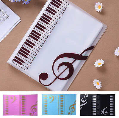 Sheet Music Folder File Paper Documents Folder Holder Plastic
