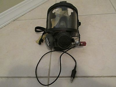 Interspiro SCBA Full Face Fire Fighter Mask with Savox Voice Communications
