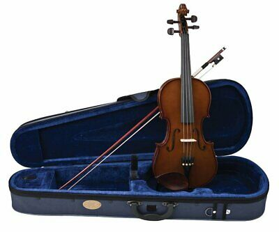 Stentor 1400 3/4 Size Student Violin Outfit with Case & Bow Brown Beginner
