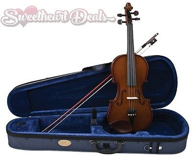 NEW Stentor 1400 Half Size 1/2 Student Violin Outfit with Case & Bow Brown