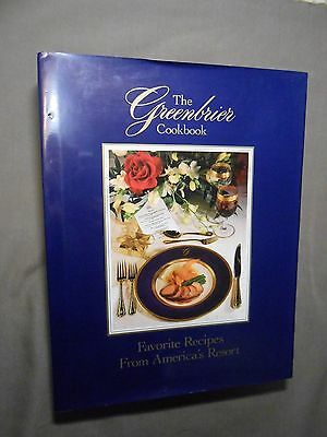 New Orleans estate GREENBRIER Hotel W Virginia COOKBOOK restaurant hotel home