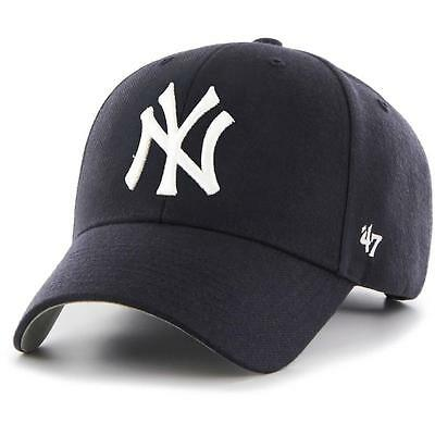 New York Yankees MLB Supporters Hat MVP Cap From 47 Brand Baseball Cap
