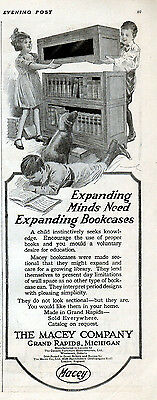 1920 Macy Expanding Bookcases ad --l-851