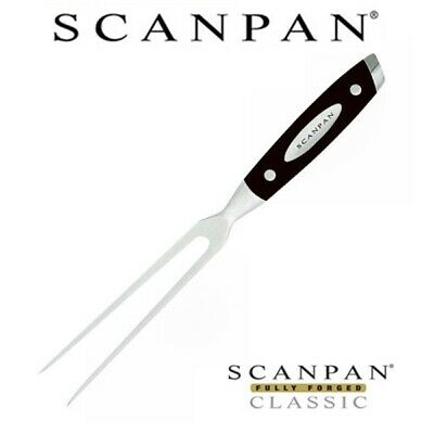 "Scanpan Fully Forged Classic 6"" / 15cm Carving Fork Kitchen Cutlery Knife 100% G"