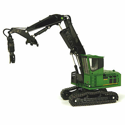 John Deere 2954D Live Heel Log Loader / 1:50 Scale By ERTL45036