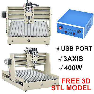 NEW USB 3 Axis CNC Router Engraver Milling Machine Engraving Drilling Desktop US