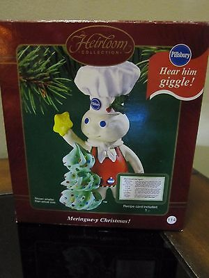 "Heirloom Collection ""Pilsbury Dough Boy"" Ornament It Giggles Meringue-y-Christma"