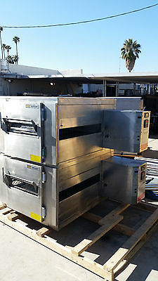 Pizza Ovens - Lincoln 1450 Natural Gas Doublestack - Refurbished/Warranty!!!