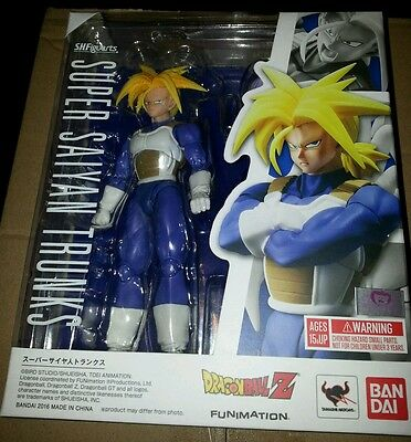 S.H. Figuarts Dragonball Z Super Saiyan Trunks 2.0 action figure Bandai