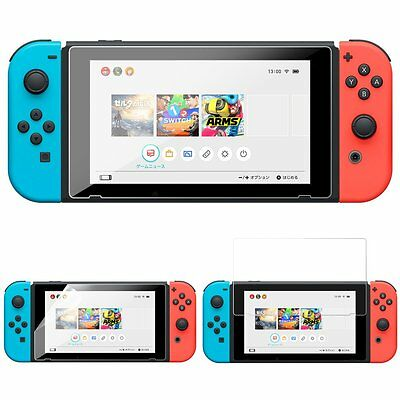 New Premium Soft Glass Screen Protector Guard Shield For Nintendo Switch 2017